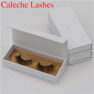 Fashionable 3D Invisible Band Mink Lashes Private Label