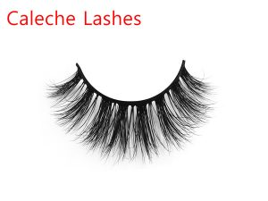 Customized 3D Invisible Band Mink Lashes Private Label PL3D25