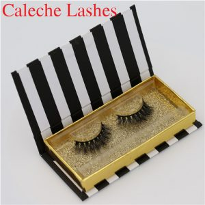 3D Mink Fur Lashes With Private Label Package