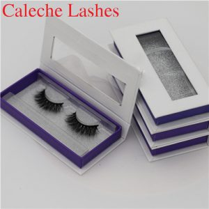 Newest Real Sable Fur Eyelashes Private Label