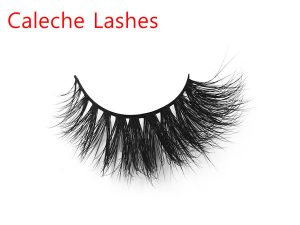 Fashionable 3D Invisible Band Mink Lashes Private Label CL3D17