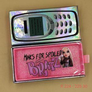cell phone eyelash case wholesale