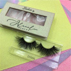 custom mink lash packaging