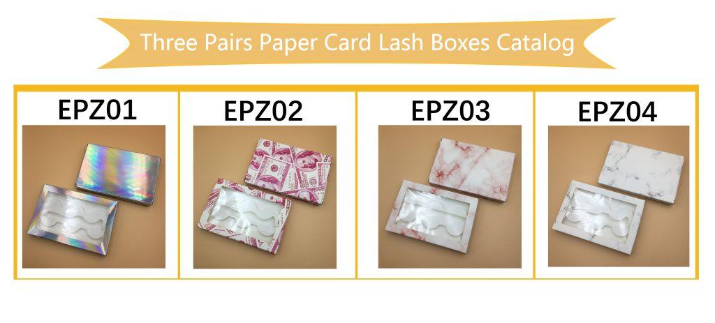DIY Eyelash Packaging Book