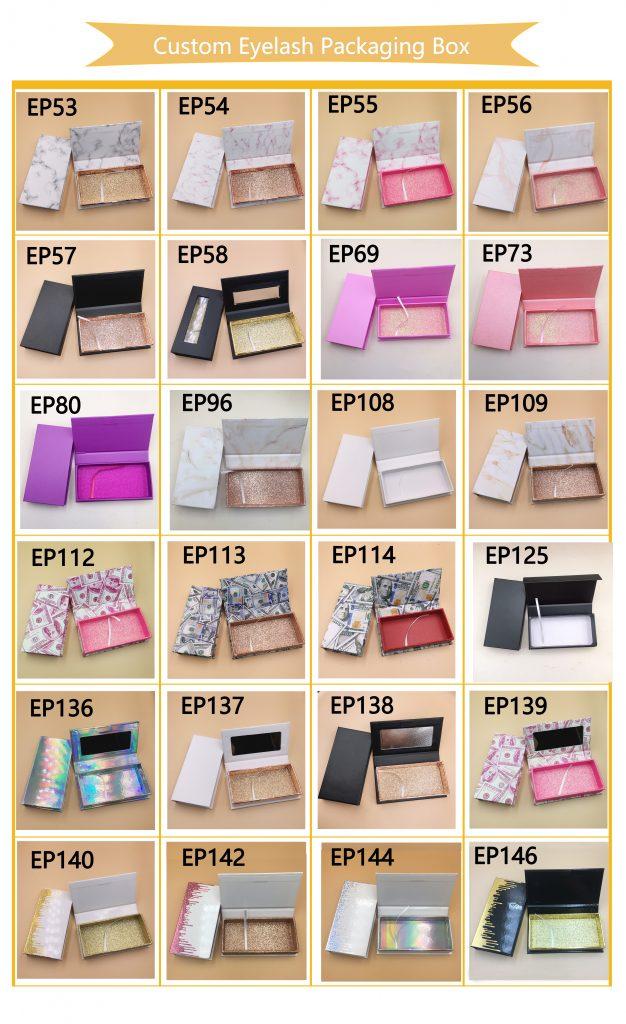 Drip Custom Lash Boxes