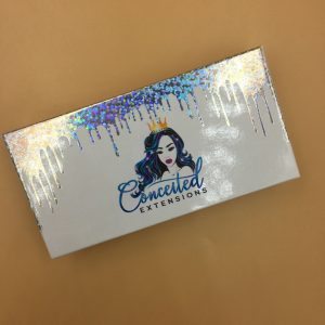 Lash Packaging With Holographic Drip