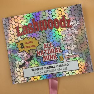 Create Your Own Lashwoodz Eyelash Packaging Box