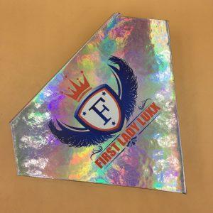 DIY Diamond Holographic Eyelash Packaging
