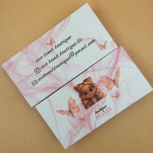 Pink Marble Custom Eyelash Packaging USA