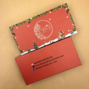 Christmas Eyelash Packaging