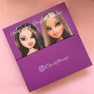 Custom Purple Eyelash Boxes
