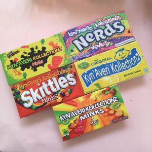 Wholesale Custom Candy Eyelash Packaging Box