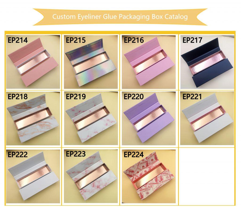Custom Eyeliner Glue Pen Boxes