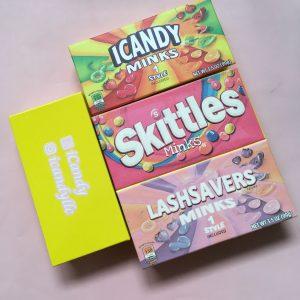 Custom Candy Eyelash Packaging USA