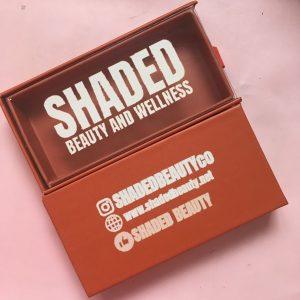 Orange Lashes Packaging