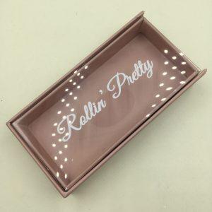 Create Your Own Brown Eyelash Packaging Box